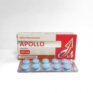 Apollo 100mg - Sildenafil - Balkan Pharmaceuticals