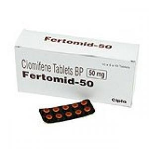 Fertomid-50 - Clomiphene - Cipla, India
