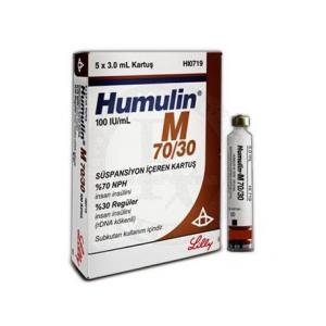 Humulin M 70/30 - Insulin Human Injection - Lilly, Turkey