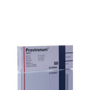 Provironum - Mesterolone - Schering AG, Germany