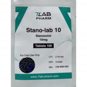 Stano-lab 10 - Stanozolol - 7Lab Pharma, Switzerland