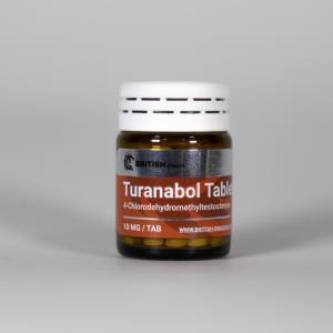 Turanabol Tablets - 4-Chlorodehydromethyltestosterone - British Dragon Pharmaceuticals