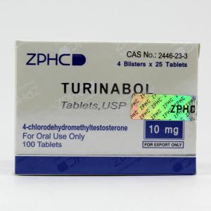 Turinabol (ZPHC) - 4-Chlorodehydromethyltestosterone - ZPHC